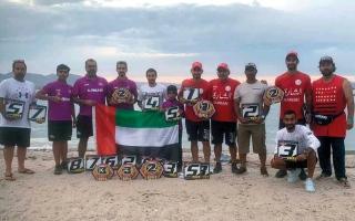 متفرقات.. 11 ميدالية لأبطال الإمارات في مونديال الدرّاجات المائية