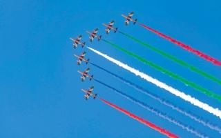 الصورة: استعراضات جوية في «إكسبو 2020 دبي»