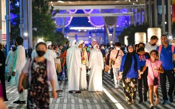 الصورة: «إكسبو 2020 دبي».. 1500000 زيارة.. والقادم أجمل