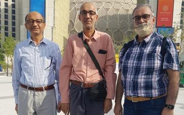 الصورة: 3 مهندسين سعوديين.. رحلة العمر في محطة «إكسبو»