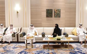 الصورة: حاكم أم القيوين يزور «إكسبو 2020 دبي»