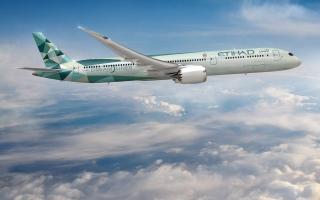 رحلة الاتحاد للطيران المستدامة تحقق انخفاضا في الانبعاثات الكربونية بنسبة 72%