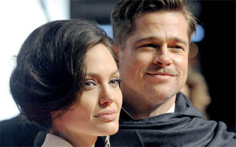 الصورة: انجلينا جولي توقف إجراءات الطلاق مع براد بيت