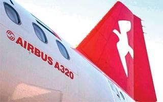 """الصورة: """"العربية للطيران"""" تعلن عن طلبية لشراء 120 طائرة من عائلة """"إيرباص A320"""" بقيمة 14 مليار دولار"""