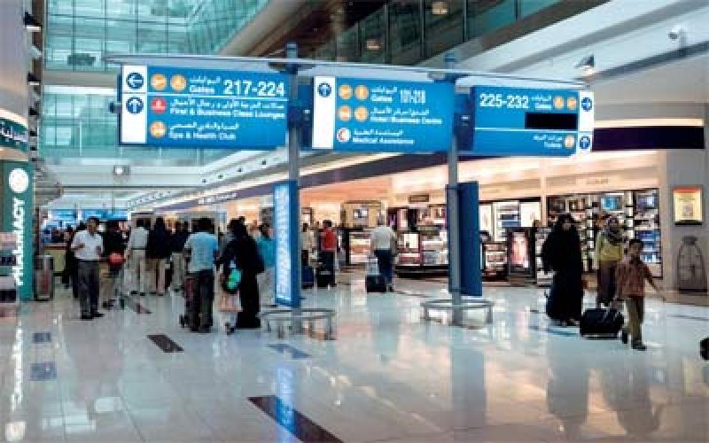 الصورة: تمرين للطوارئ في مطار دبي الدولي يوم غد