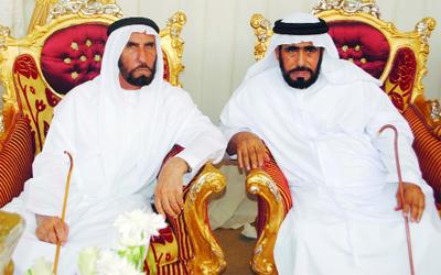 محمد بن سعود يحضر أفراح الدهماني