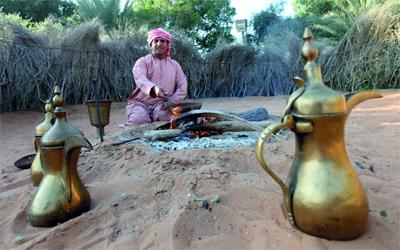 «القهوة».. دِلال البدو التي لا تبرد