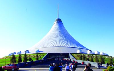 المركز الترفيهي الجديد للعاصمة الكازاخستانية.  أرشيفية
