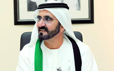 محمد بن راشد: 2013 عاماً للتوطين