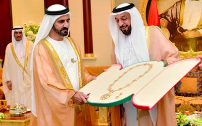 خليفة يكرّم 9 شخصيات وطنية فـازت بجائــــزة رئيس الدولة التقديرية