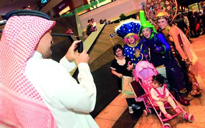 مهرجان دبي للتسوق يواصل نجاحه ويؤكد مكانته بين أهم الفعاليات الترفيهية في العالم. تصوير: باتريك كاستيلو