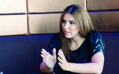 زهرة عرفات: غياب الدعم الفني ظاهرة تعوق الحراك السينمائي الخليجي.           تصوير: أحمد عرديتي