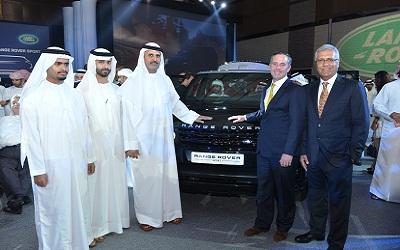 ثمن السيارة الجديدة يبدأ من 379 ألف درهم. تصوير: نجيب محمد