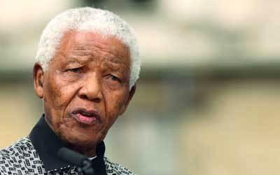مانديلا تحول أيقونة للحرية في العالم. غيتي