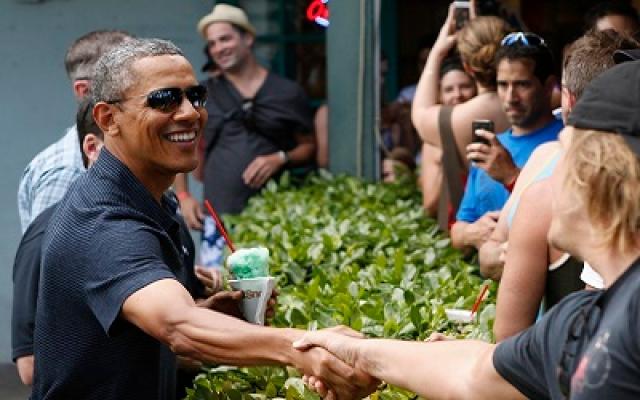 شاهد.. كيف اختتم أوباما عام 2013