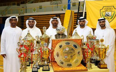 الوصل يحتفل بمجموعة من الإنجازات في ألعاب مختلفة. الإمارات اليوم