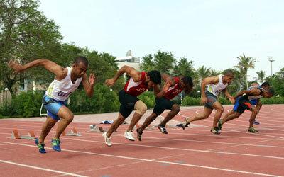 880 رياضياً يمارسون ألعاب القوى في الدولة. الإمارات اليوم