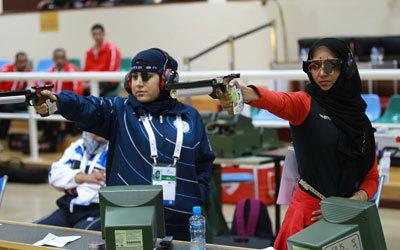 رماية المسدس والبندقية تترقب الدعم للمنافسة في المحافل الدولية والعالمية الكبرى. أرشيفية