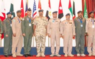 اختتام فعاليات التدريب الجوي المصري ــ البحريني «الربط الأساسي 2014»