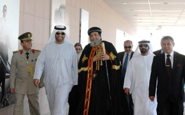 البابا تواضروس الثاني يشيد بموقف الإمارات المشرّف ووقوفها بجانب مصر