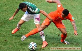 الصورة: مونديال 2014: هولندا - المكسيك