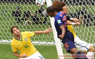الصورة: مونديال 2014: البرازيل - هولندا