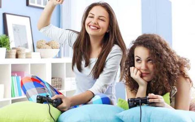 تزايد إقبال الإناث  على ألعاب الفيديو
