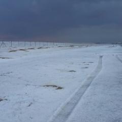 """بالفيديو ..تساقط الثلوج على جبل """"جيس"""" وانخفاض درجة الحرارة الى 2 تحت الصفر"""
