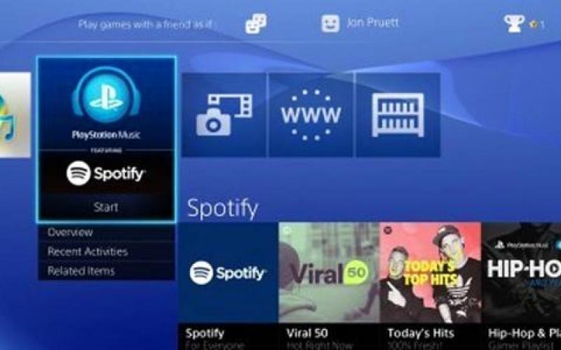 الصورة: «سوني» تطلق خدمة «سبوتيفاي» على أجهزة ألعاب «بلاي ستيشن»