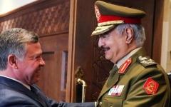 الصورة: العاهل الأردني يدعم ليبيا في تصديها للتنظيمات الإرهابية