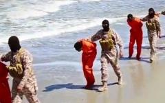 الصورة: «داعش» يعدم 28 إثيوبياً مسيحياً في ليبيا