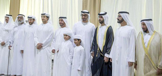 محمد بن راشد ومحمد بن زايد يحضران أفراح المري والفتان حياتنا مجتمع الإمارات اليوم