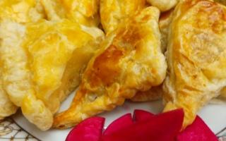 الصورة: مطبخ «أم شما» : «بيف باستري» باللحم المفروم