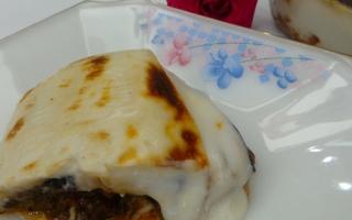 الصورة: مطبخ أم شما : «الموساكا اليونانية»