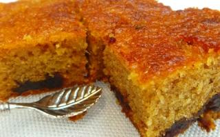 الصورة: مطبخ أم شما : كعكة التمر