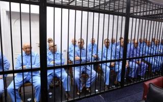 الصورة: أحكام بالإعدام على سيف الإسلام القذافي و8 مسؤولين ليبيين سابقين