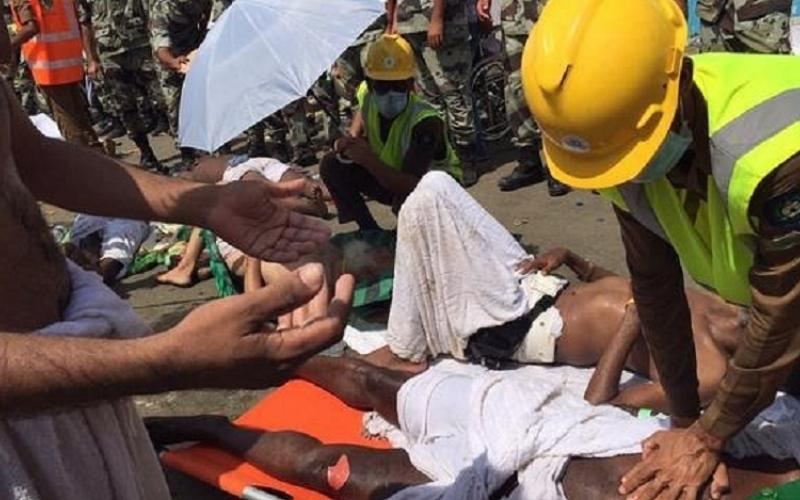 بالفيديو والصور.. وفاة 717 حاجاً وإصابة 863 في حادث التدافع في منى