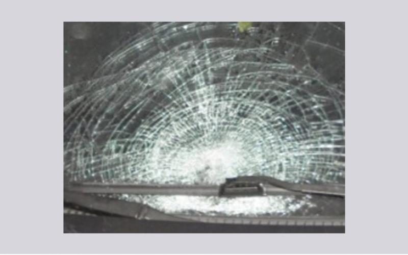 الصورة: بالفيديو..حادث تصادم عنيف بين عدة مركبات