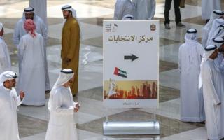الصورة: سيارات مجانية لنقل الناخبين المسنّين والمرضى والمعاقين في دبي