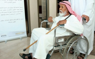 الصورة: كبار السن والأطفال وذوي الإعاقة يتصدرون المشهد الانتخابي