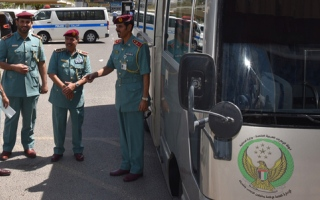 الصورة: «إقامة الشارقة» تدشن «الحافلة الوطنية»