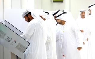 الصورة: «التقنية العليا» استقبل العدد الأكبر من الناخبين في رأس الخيمة