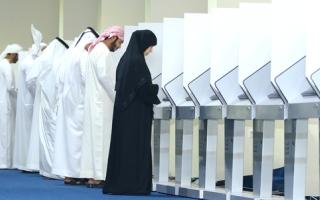 الصورة: لجنة الفجيرة: لم نرصد أي مخالفات من الناخبين أو المرشحين