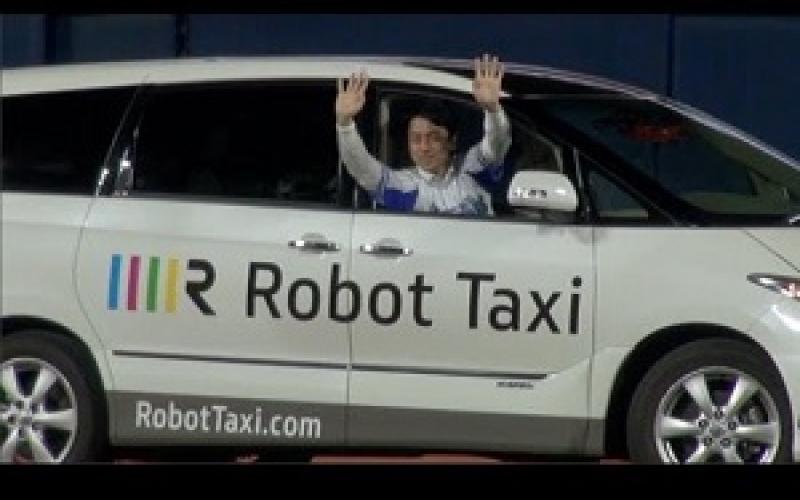 بالفيديو.. تاكسي بلا سائق!