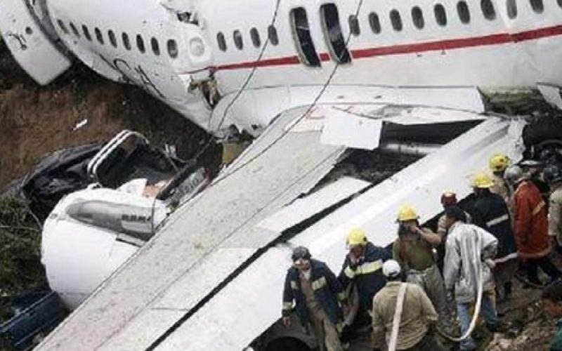 أول فيديو للطائرة الروسية المنكوبة بعد سقوطها