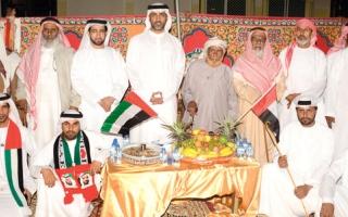 قبيلة الرواشد تحتفل بـ «اليوم الوطني الـ44»