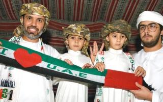 رئيس اتحاد الأثقال يحتفل سنوياً باليوم الوطني وميلاد 3 من أبنائه