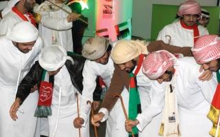 نادي الطلبة الإماراتيين في جامعة هدرسفيلد يحتفل باليوم الوطني