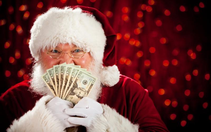 """الصورة: بالفيديو .. بابا نويل يسرق مطعم """"KFC"""""""