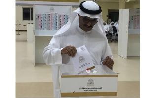 الصورة: 16 ألفا و697 ناخبا صوتوا في انتخابات استشاري الشارقة